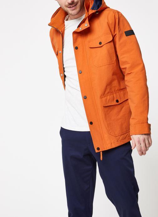 Vêtements Farah F4RS9007 Orange vue droite