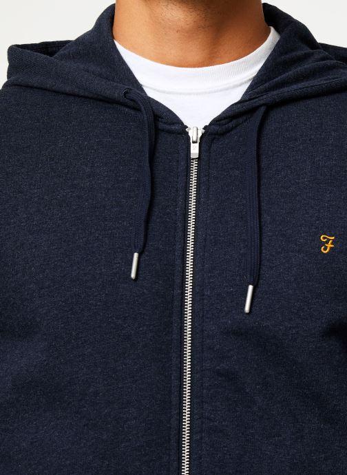 Vêtements Farah F4KS80H2 Bleu vue face