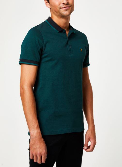 Vêtements Farah F4KH8024 Vert vue droite
