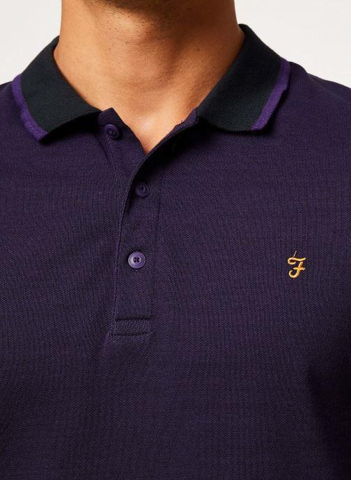 Vêtements Farah F4KH8024 Violet vue face