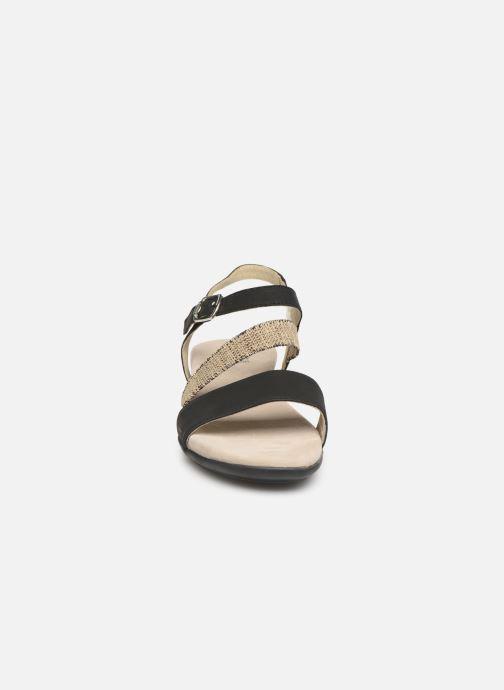 Sandals Scholl Ambrette C Black model view