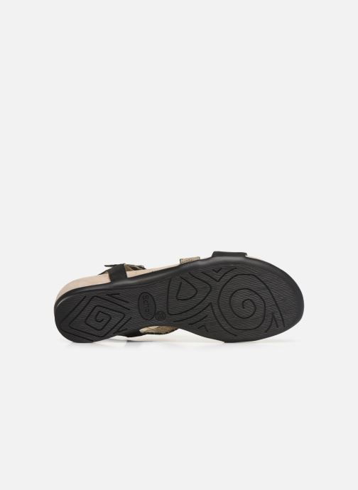 Sandals Scholl Ambrette C Black view from above