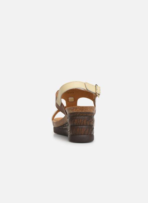 Sandales et nu-pieds Scholl Annael C Marron vue droite