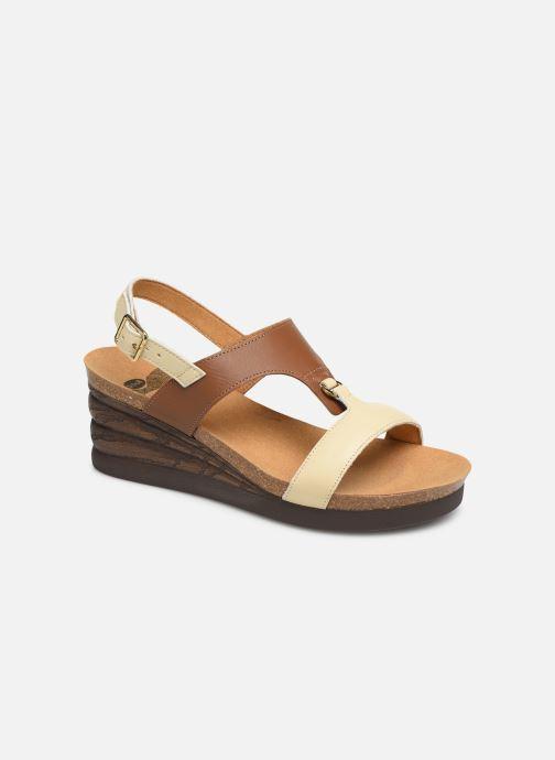 Sandales et nu-pieds Scholl Annael C Marron vue détail/paire