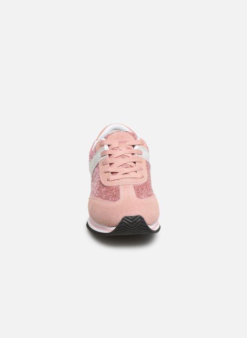 Baskets Scholl Charlize C Rose vue portées chaussures