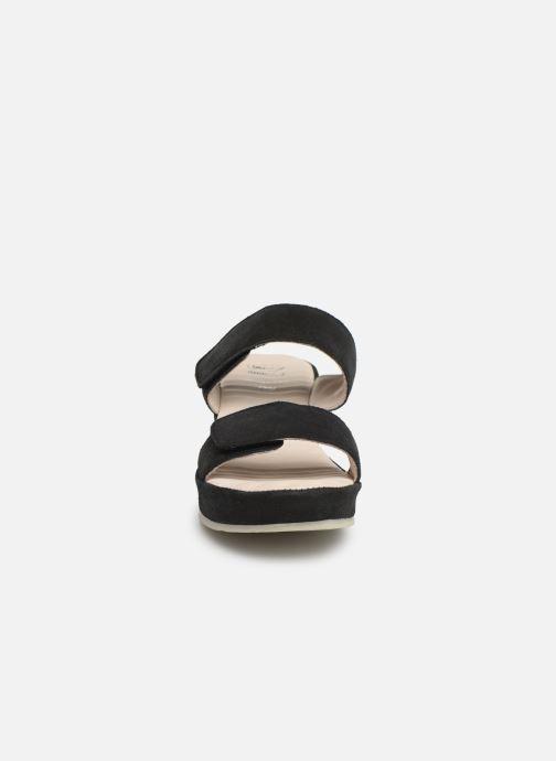 Mules et sabots Scholl Cora C Noir vue portées chaussures