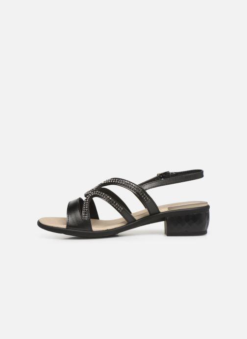 Sandales et nu-pieds Scholl Danae C Noir vue face