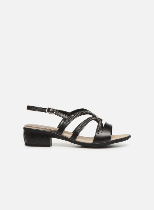 Sandales et nu-pieds Scholl Danae C Noir vue derrière