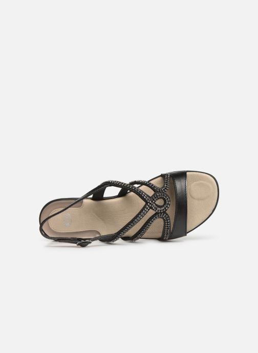 Sandales et nu-pieds Scholl Danae C Noir vue gauche