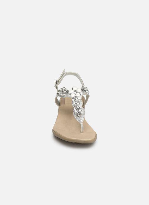 Sandales et nu-pieds Scholl Dollie C Argent vue portées chaussures