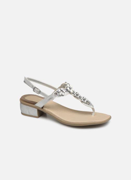 Sandales et nu-pieds Scholl Dollie C Argent vue détail/paire
