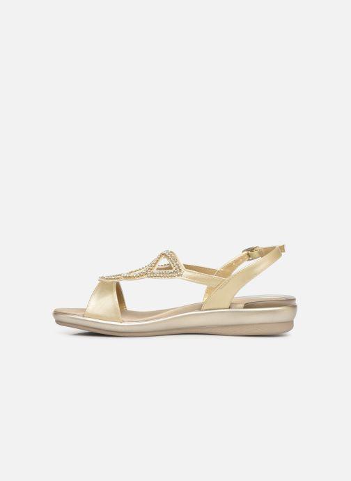 Sandales et nu-pieds Scholl Eruannie C Or et bronze vue face