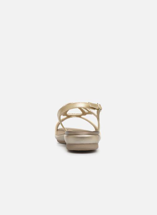 Sandales et nu-pieds Scholl Eruannie C Or et bronze vue droite