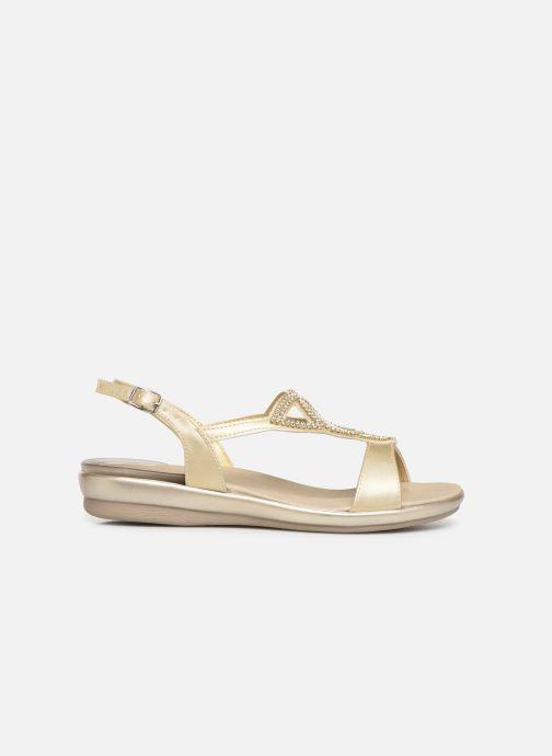Sandales et nu-pieds Scholl Eruannie C Or et bronze vue derrière