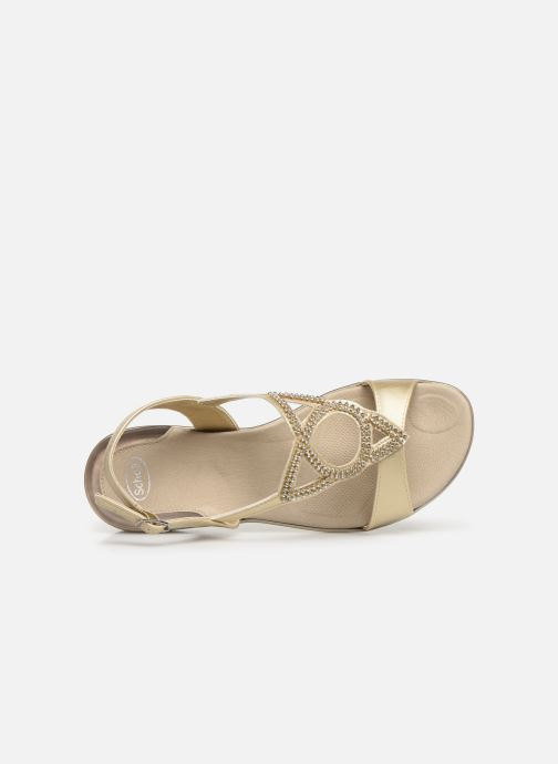 Sandales et nu-pieds Scholl Eruannie C Or et bronze vue gauche