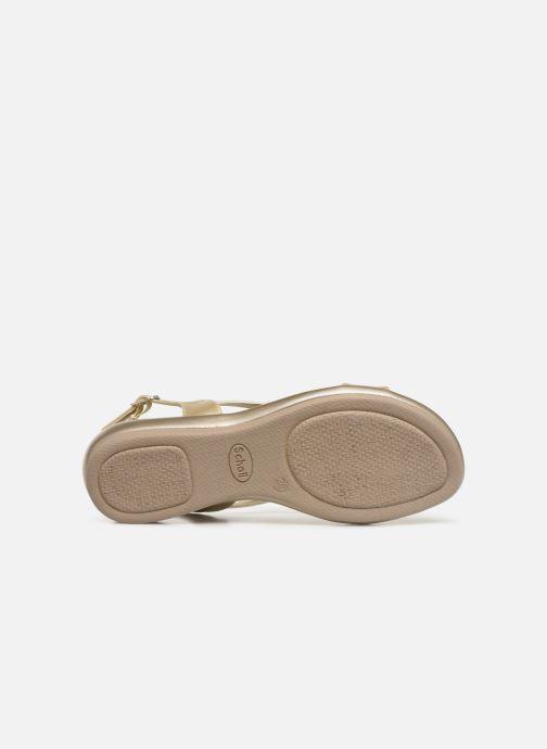 Sandales et nu-pieds Scholl Eruannie C Or et bronze vue haut