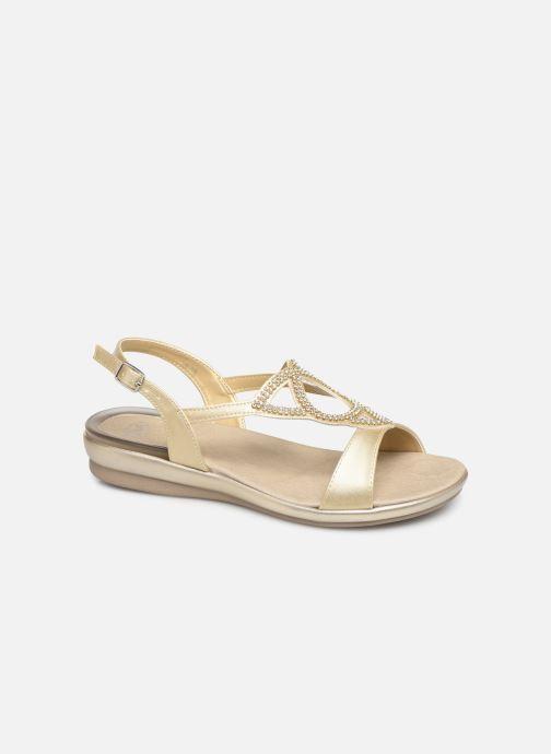 Sandales et nu-pieds Scholl Eruannie C Or et bronze vue détail/paire