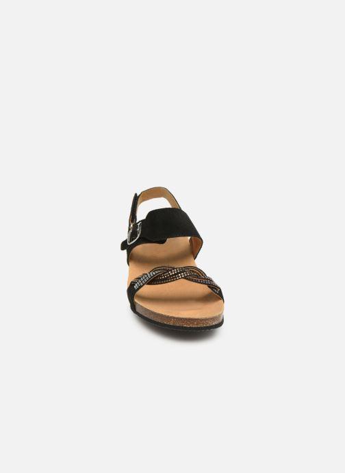 Sandales et nu-pieds Scholl Evelyne Sandal C Noir vue portées chaussures