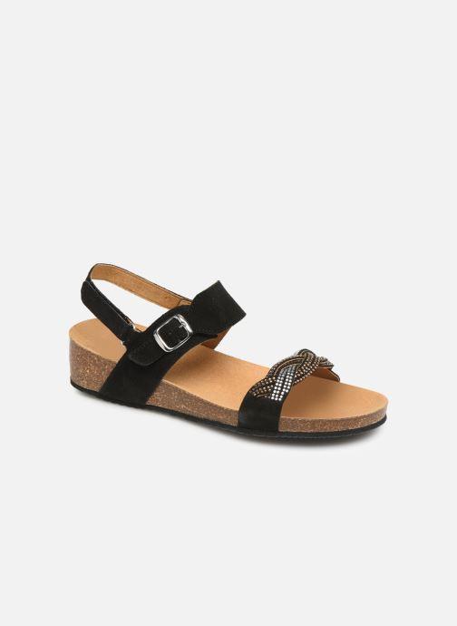 schwarz Evelyne 372932 Sandal C Sandalen Scholl qFA6Utt