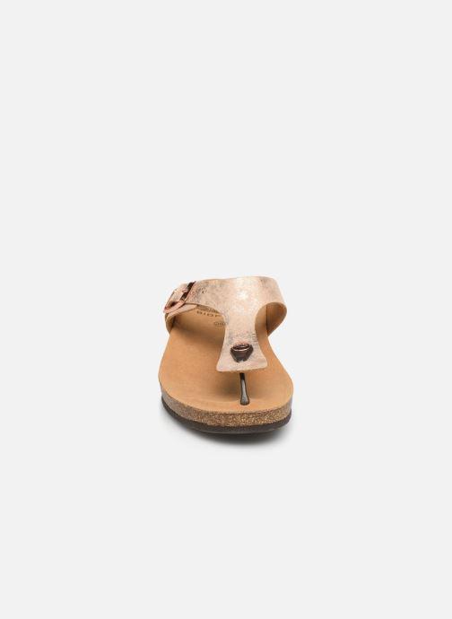 Mules et sabots Scholl Gandia C Or et bronze vue portées chaussures
