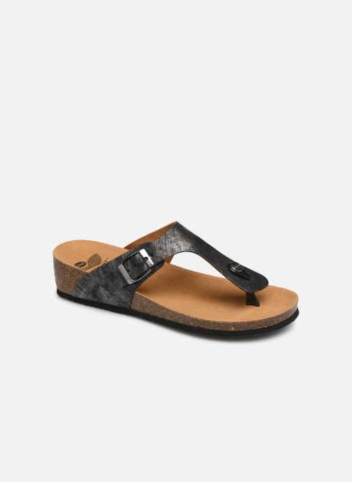 Mules & clogs Scholl Gandia C Silver detailed view/ Pair view