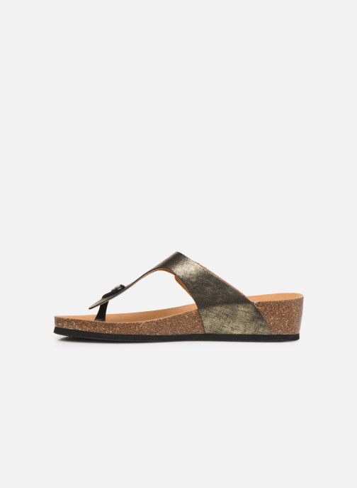 Mules & clogs Scholl Gandia C Bronze and Gold front view