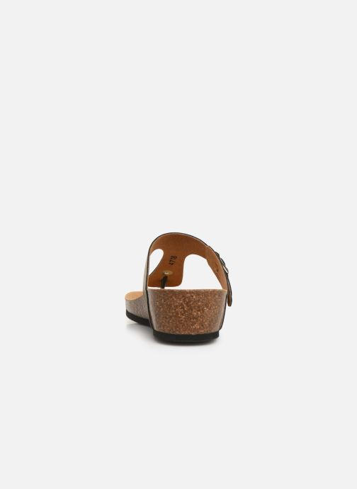 Mules & clogs Scholl Gandia C Bronze and Gold view from the right