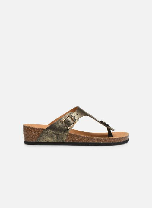 Mules & clogs Scholl Gandia C Bronze and Gold back view