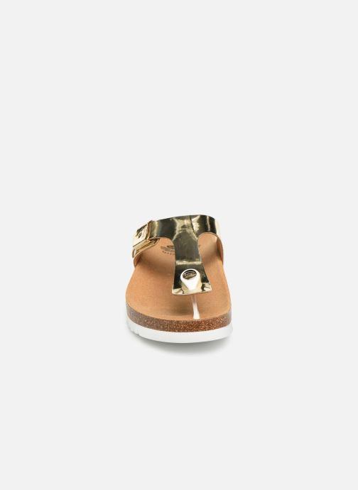 Mules et sabots Scholl Glam ss 1 C Or et bronze vue portées chaussures