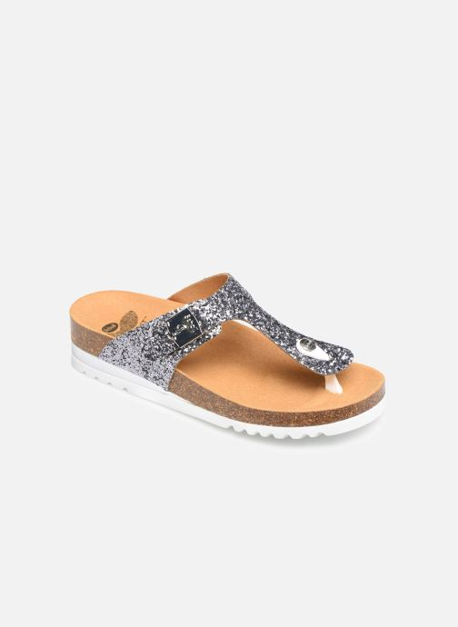 Mules & clogs Scholl Glam ss 1 C Silver detailed view/ Pair view