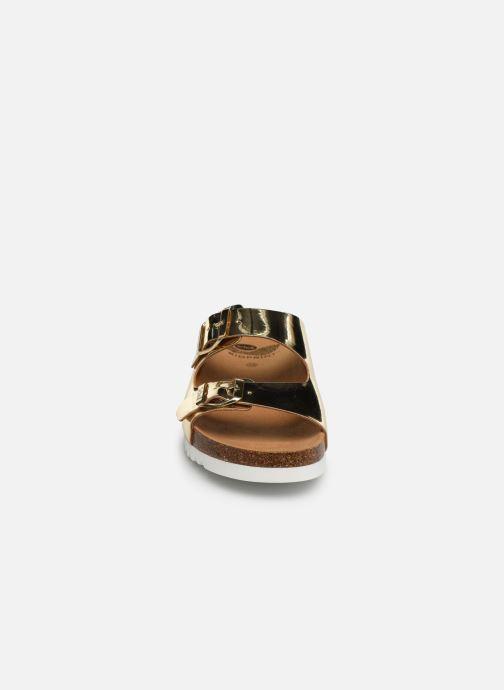 Mules et sabots Scholl Glam ss 2 C Or et bronze vue portées chaussures