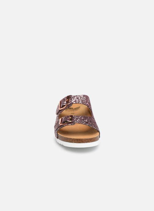 Mules et sabots Scholl Glam ss 2 C Rose vue portées chaussures