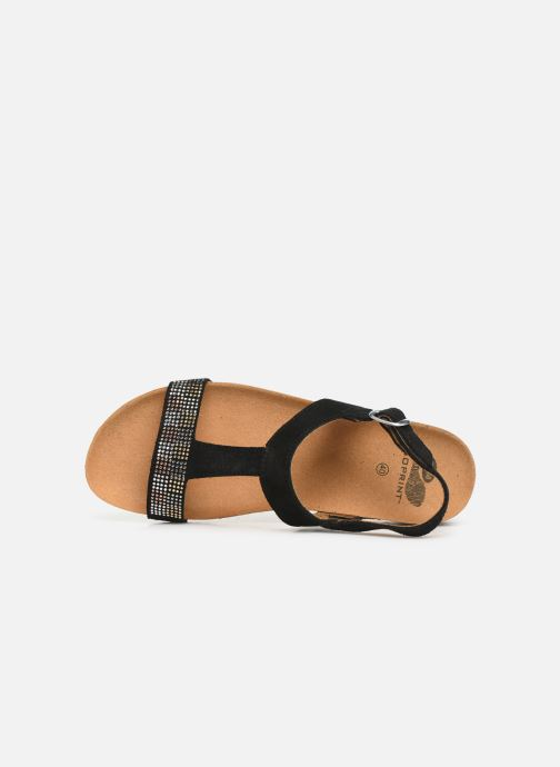 Sandals Scholl Madaline C Black view from the left