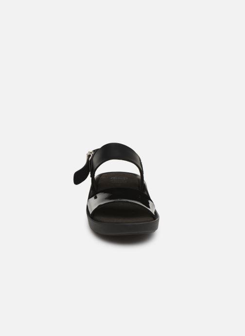 Sandales et nu-pieds Scholl Mamore C Noir vue portées chaussures