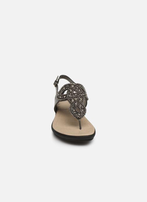 Sandales et nu-pieds Scholl Marillie C Gris vue portées chaussures