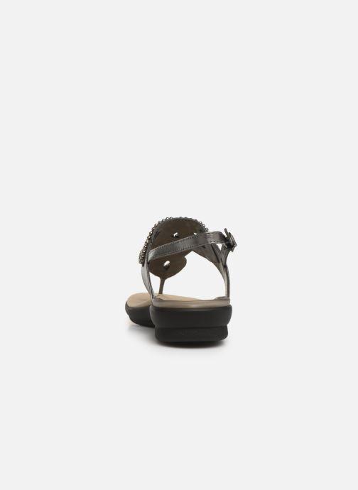 Sandales et nu-pieds Scholl Marillie C Gris vue droite