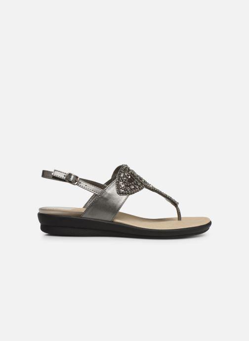 Sandales et nu-pieds Scholl Marillie C Gris vue derrière
