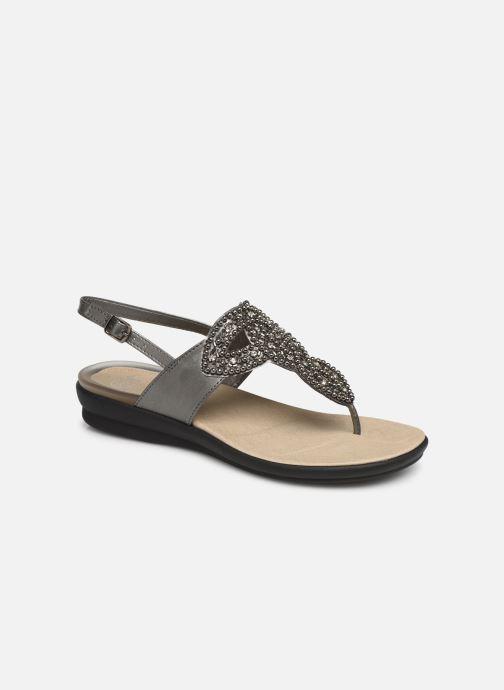 Sandales et nu-pieds Scholl Marillie C Gris vue détail/paire