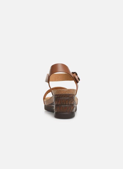 Sandales et nu-pieds Scholl Ninfea C Marron vue droite