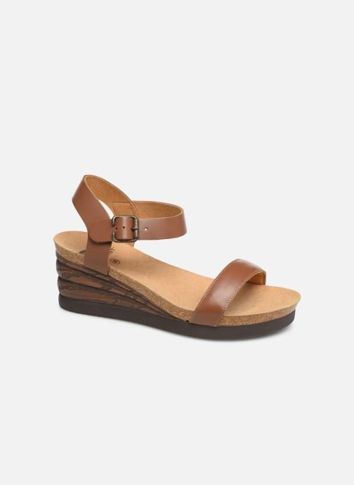 Sandals Scholl Ninfea C Brown detailed view/ Pair view