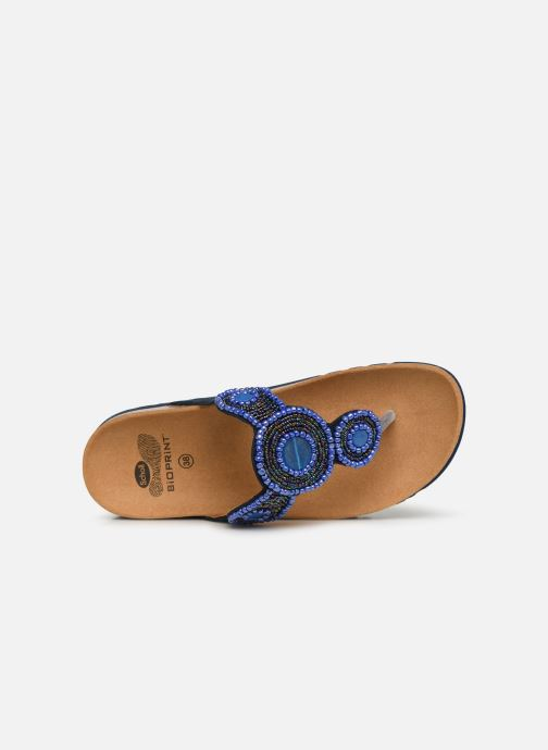 Mules & clogs Scholl Zarina C Blue view from the left