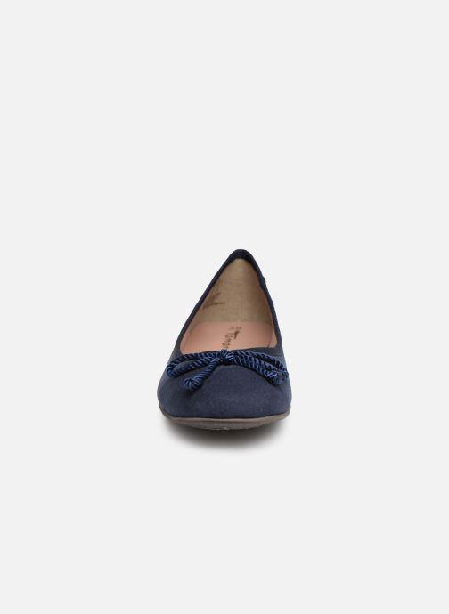 Ballerines Tamaris Hysope new Bleu vue portées chaussures