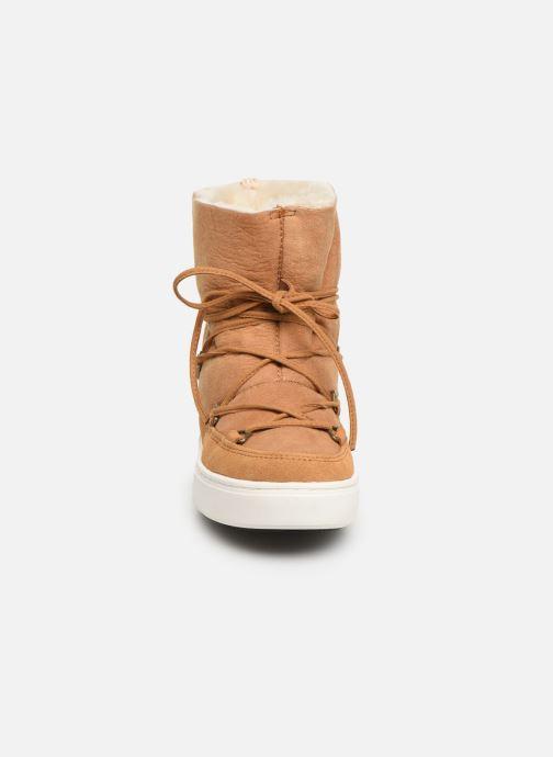 Chaussures de sport Moon Boot Moon Boot Pulse Jr Girl Shearling Marron vue portées chaussures