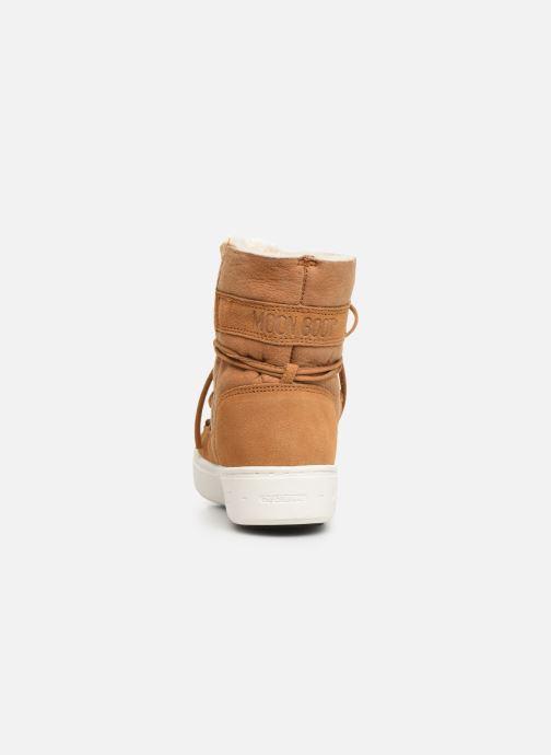 Chaussures de sport Moon Boot Moon Boot Pulse Jr Girl Shearling Marron vue droite