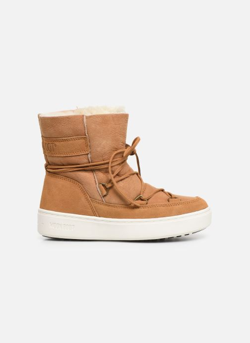Sport shoes Moon Boot Moon Boot Pulse Jr Girl Shearling Brown back view