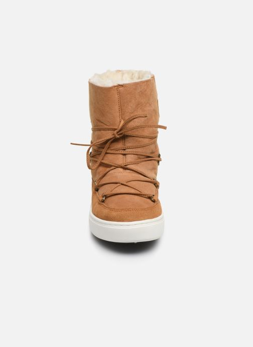 Sport shoes Moon Boot Moon Boot Pulse Jr Girl Shearling Brown model view