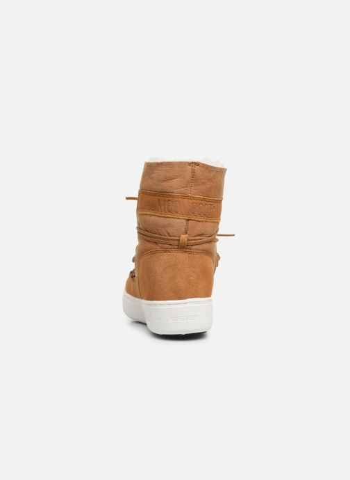 Sport shoes Moon Boot Moon Boot Pulse Jr Girl Shearling Brown view from the right