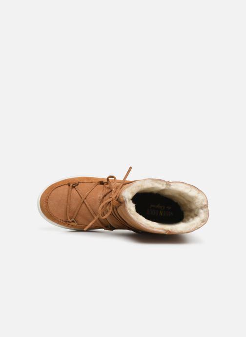 Chaussures de sport Moon Boot Moon Boot Pulse Jr Girl Shearling Marron vue gauche