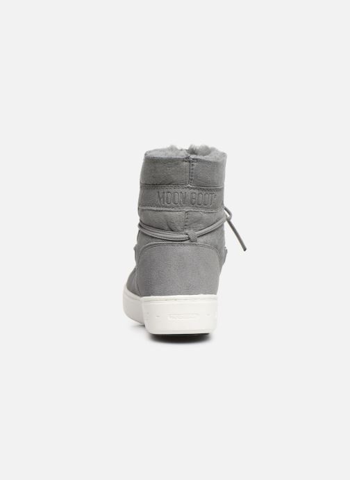 Sport shoes Moon Boot Moon Boot Pulse Jr Girl Shearling Grey view from the right