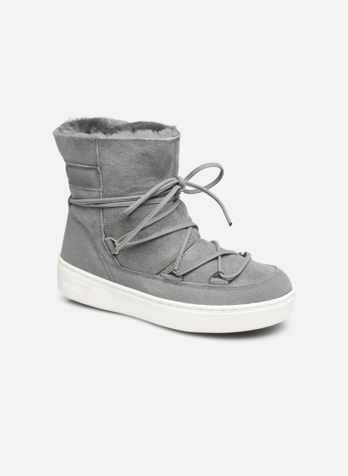 Sport shoes Moon Boot Moon Boot Pulse Jr Girl Shearling Grey detailed view/ Pair view
